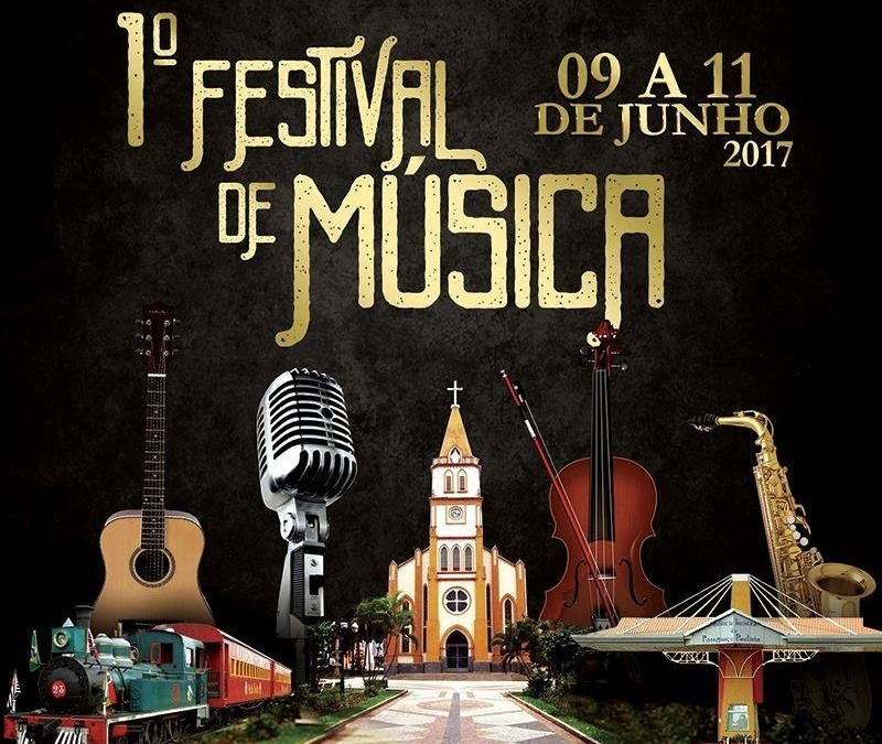 1º Festival de Música agita Paraguaçu Paulista