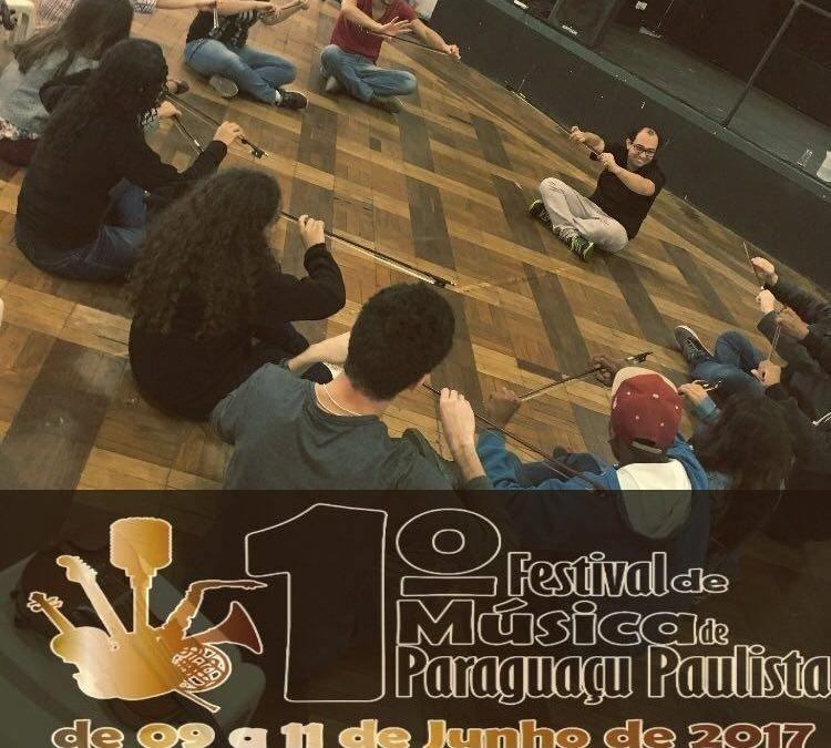 Teaser do Festival de Música de Paraguaçu Paulista