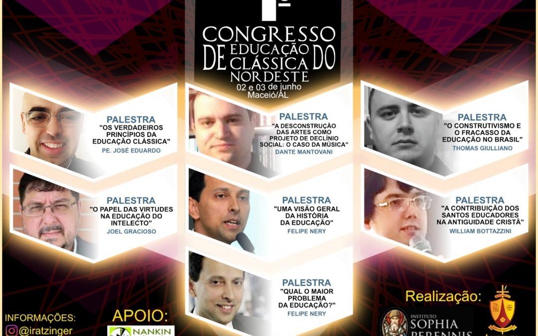 Maestro Dante Mantovani participa do I Congresso de Educação Clássica do Nordeste