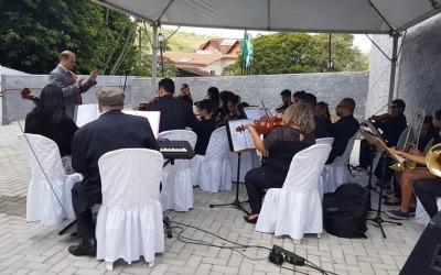 ORQUESTRA JOVEM DE PARAGUAÇU PAULISTA APRESENTA-SE EM POÇOS DE CALDAS-MG